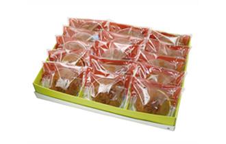 鶴亀 焼き印 どら焼き 15個入 ギフトパッケージ