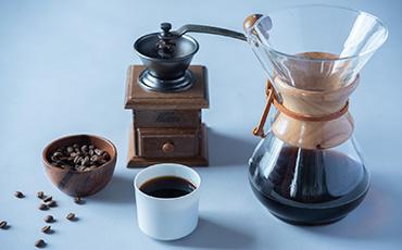厳選されたアラビカ種のコーヒー豆を使用