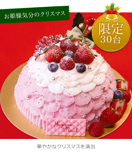 クリスマスケーキ シンデレラケーキ