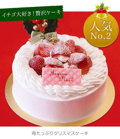 クリスマスケーキ ストロベリースペシャル