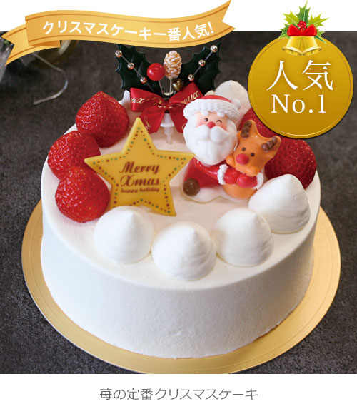 クリスマスケーキ スペシャルサンタ