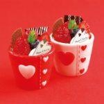 お子様にもおすすめ♡バレンタインカップ&極チョコぷりん♪